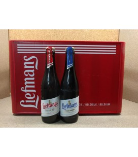 Liefmans mixed crate (Kriek Brut - Goudenband) 24 x 33 cl