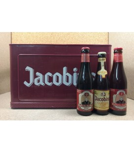 Jacobins mixed crate (Gueuze-Cuvée-Kriek) 8 x 3