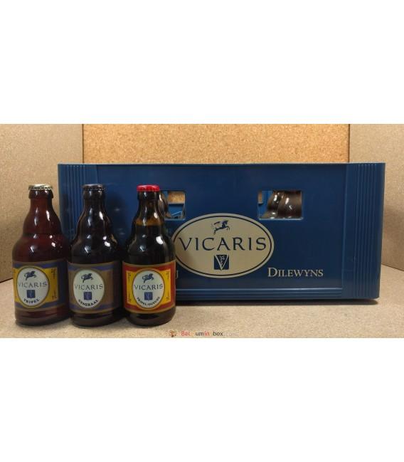 Vicaris mixed crate (3x8) 24 x 33 cl