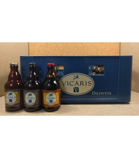 Vicaris mixed crate (3x8) 24 x 33 cl