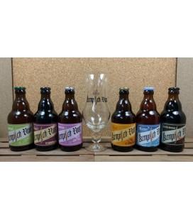 Kempisch Vuur Brewery Pack (6x33cl) + Kempisch Vuur Glass