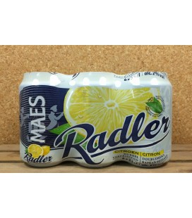 Maes Radler Citroen (lemon) 6x33 cl Cans