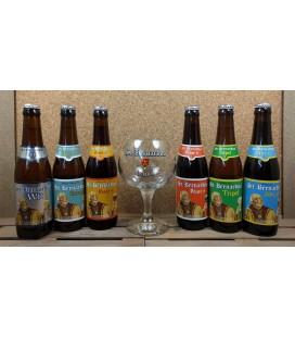 St Bernardus Brewery Pack + St Bernardus Glass