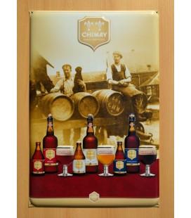 Chimay Pères Trappistes beer-sign ' 3 Brews '
