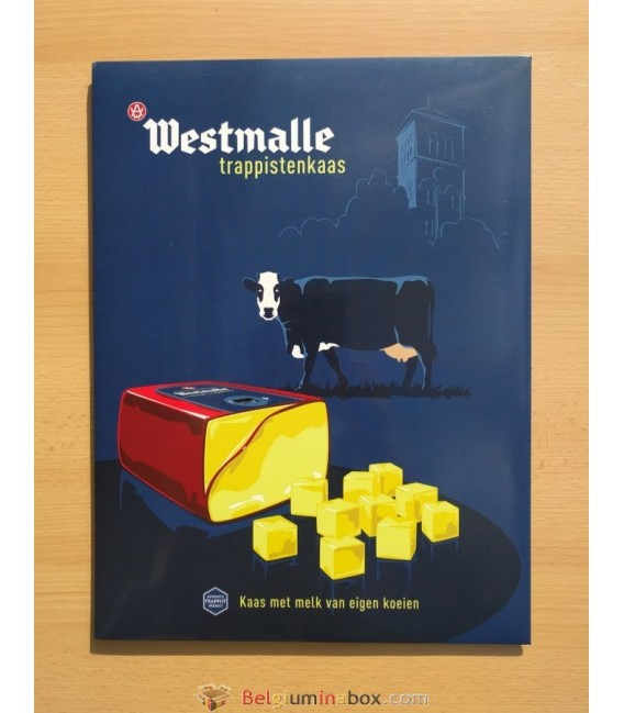 Westmalle Trappistenkaas Sign (in cardboard)