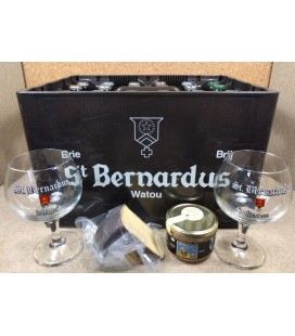 St Bernardus Mixed Crate + Cheese + Paté + 2 Glasses