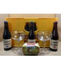 Rochefort 6-8-10 Mixed Crate + Rochefort Cheese + 2 Glasses