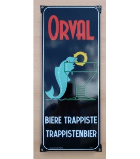 Orval Bière Trappiste/Trappistenbier beer sign in emaille
