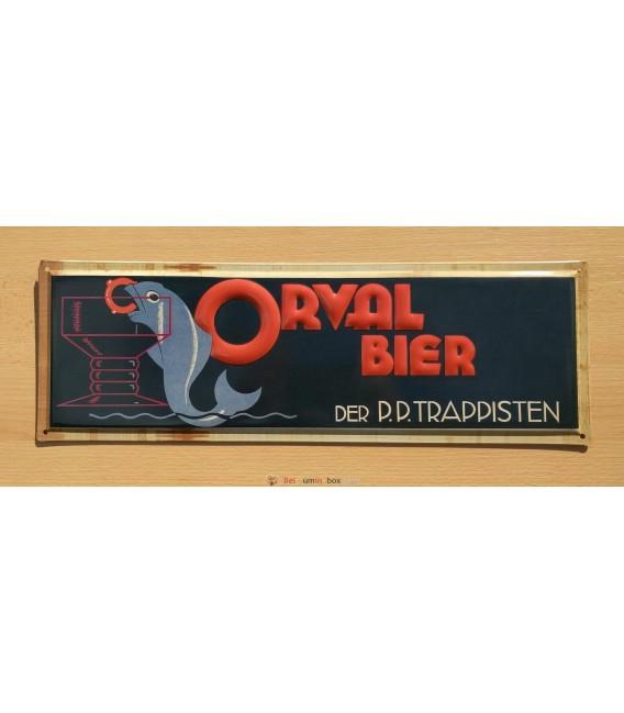 Orval Bier Der PP Trappisten beer-sign