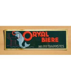 Orval Bière des PP Trappistes beer-sign