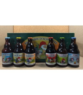 Chouffe mixed crate (6x4) 24 x 33 cl