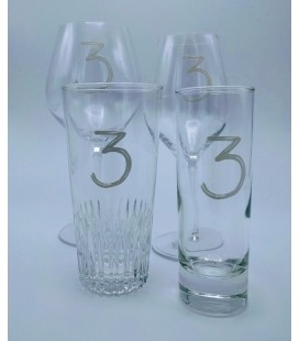 3 Fonteinen Set of 4 Glasses (new style)