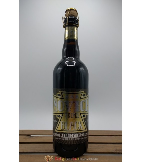De Landtsheer Novice Tripel Black 75 cl