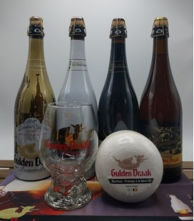 Gulden Draak Brewery Pack + Cheese + FREE Barmat + FREE Gulden Draak Glass