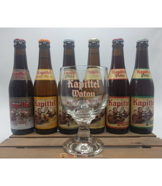 Kapittel Watou 6-Pack Brewery Pack + FREE Kapittel Watou Glass