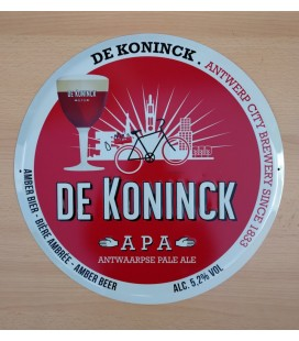 De Koninck Antwerp City Brewery Beer Sign