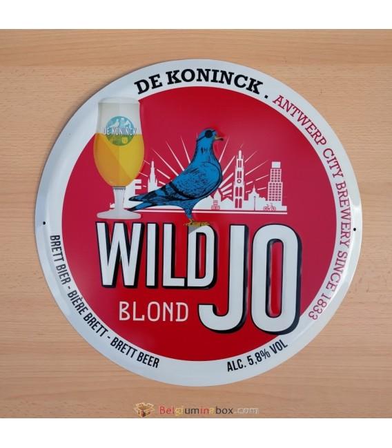 Wild Jo Blond Beer Sign