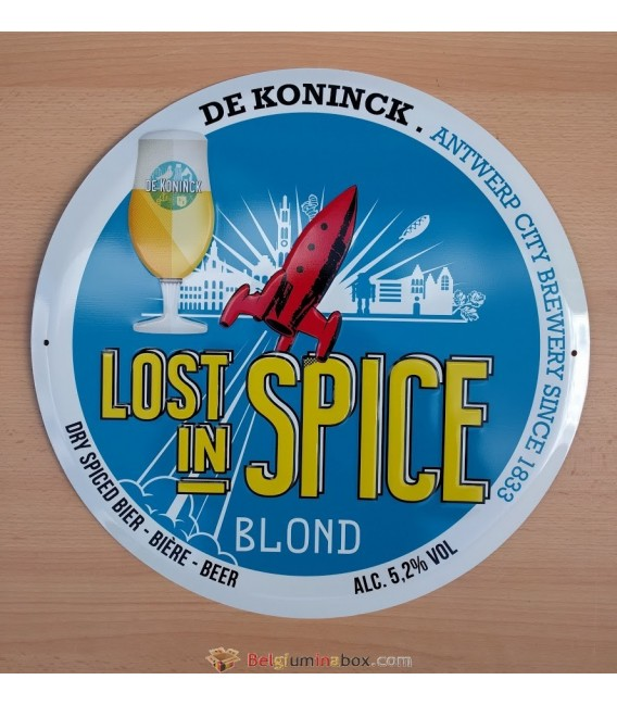 Lot in Spice Blond Beer Sign