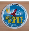 Lost in Spice Blond Beer Sign