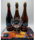 Augustijn Abbey Ale Brewery Pack (3x75cl) + Augustijn Glass + FREE Augustijn Barmat