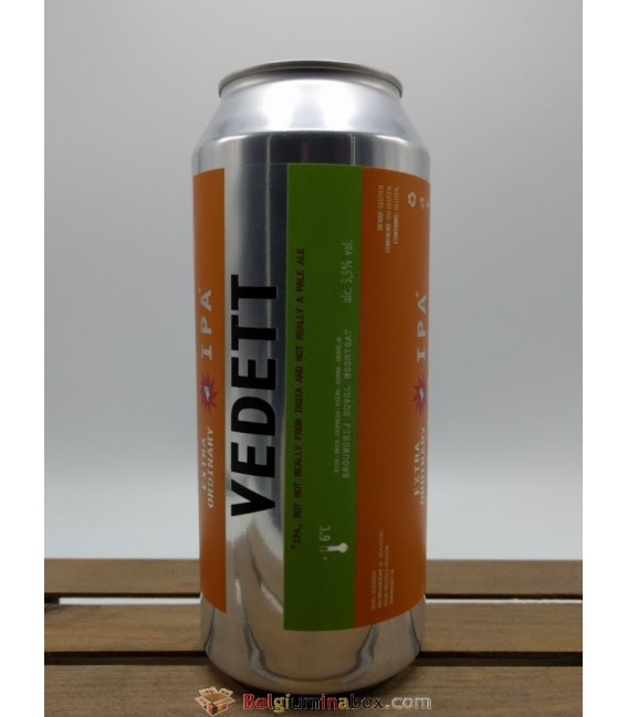 Vedett Extra Ordinary IPA Crowler 1 Litre