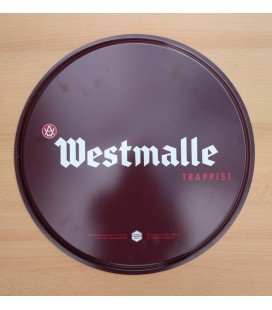 Westmalle Trappist Beer Tray (brown-colored)