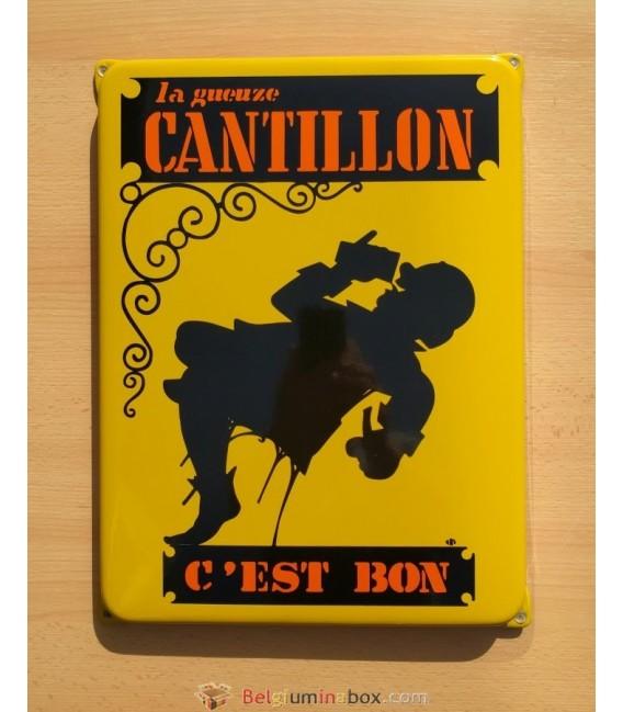 Brasserie Cantillon Beer-Sign in enamel