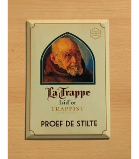 La Trappe Isid'or Trappist Beer Sign in Tin-Metal
