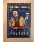 St Bernardus Beer-Sign in Tin-Metal