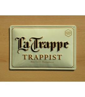 La Trappe Trappist Beer-Sign in Tin-Metal