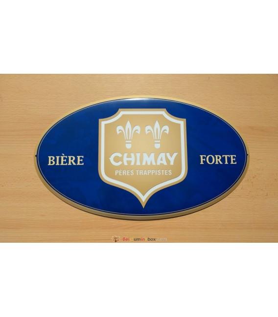 Chimay Bière Forte Beer Sign (blue color)