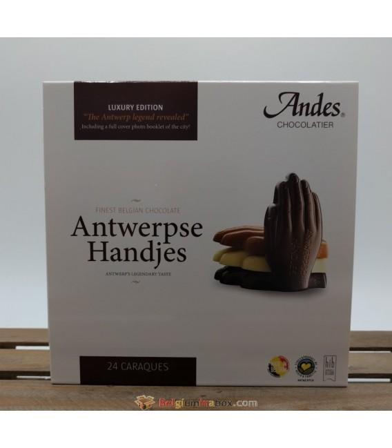Antwerpse Handjes Caraques - Finest Belgian Chocolate 150 gr