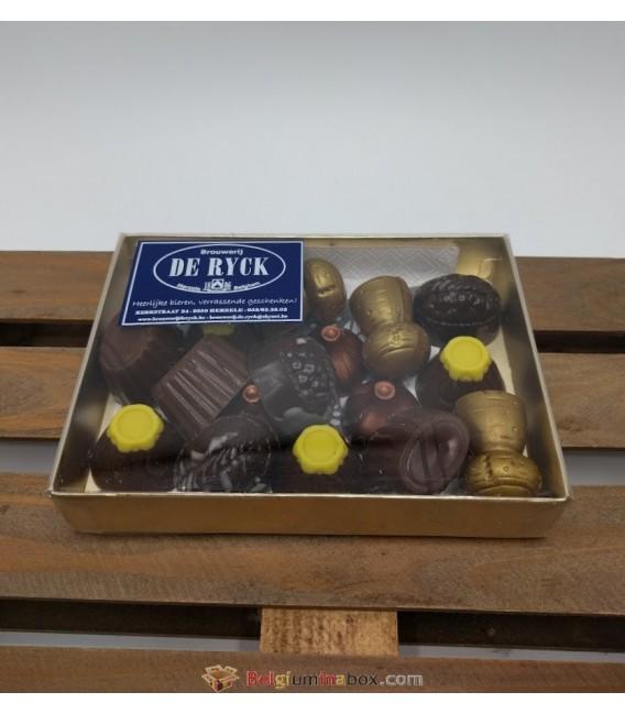 De Ryck Beer Pralines Chocolate Box 200 gr