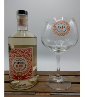 Beernaert Original Pure Gin 70 cl + Pure Gin Glass