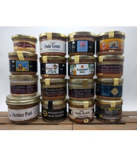 Belgian Beer Paté Box of 16