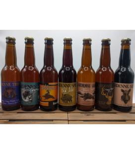 Brasserie de Bastogne Ardenne Brewery Pack 7 x 33 cl
