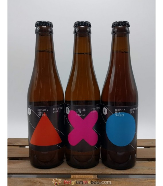 Brussels Beer Project Prototypes 3-pack 2018 33 cl