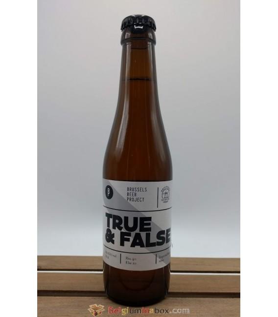 Brussels Beer Project True & False 33 cl
