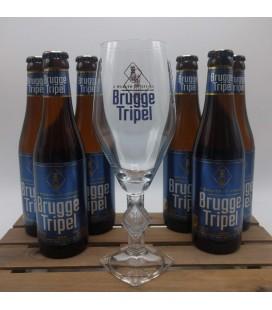 Brugge Tripel 6-Pack + FREE Brugge Tripel Glass 33 cl