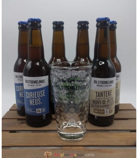 En Stoemelings Brewery Pack + En Stoemelings (honeycomb) Glass