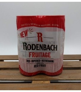 Rodenbach Fruitage 4-pack Cans of 25 cl