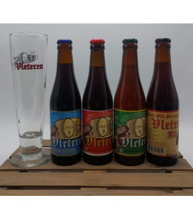 Vleteren Brewery Pack (4x33cl) + FREE Vleteren Glass