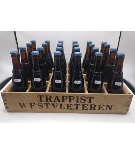 Westvleteren 8 (Extra) full crate 24 x 33 cl + Wooden Westvleteren Crate