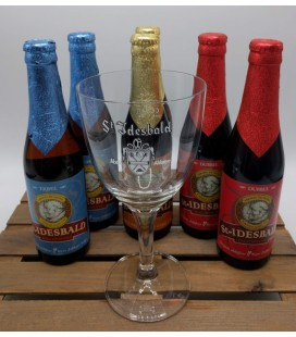 St Idesbald Brewery Pack (6x33cl) + FREE St Idesbald Glass 33 cl