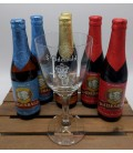 St Idesld Brewery Pack (6x33cl) + FREE St Idesbald Glass 33 cl