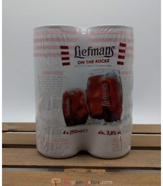 Liefmans Fruitesse On The Rocks 4 x 25 cl Cans