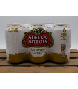 Stella Artois 6-Pack (6x33cl) Cans