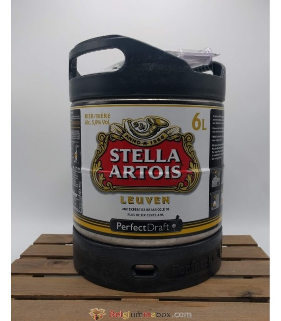 Stella Artois Perfect Draft Keg 6 L (600 cl)