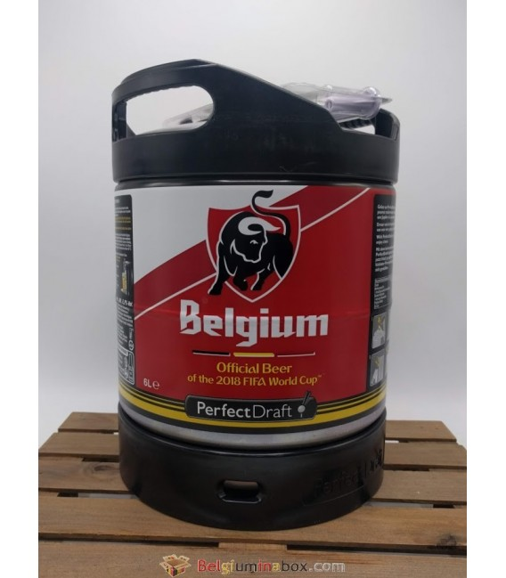 Belgium (Jupiler) Perfect Draft Keg 6 L (600 cl)