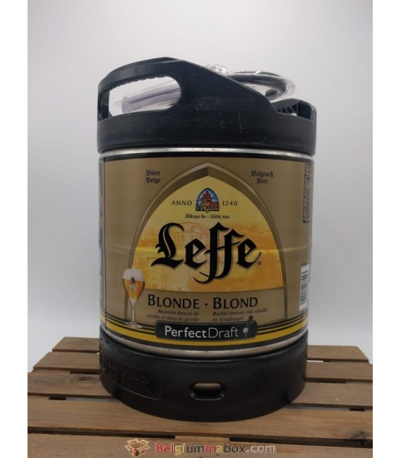 Leffe Blonde Perfect Draft Keg 6 L (600 cl)